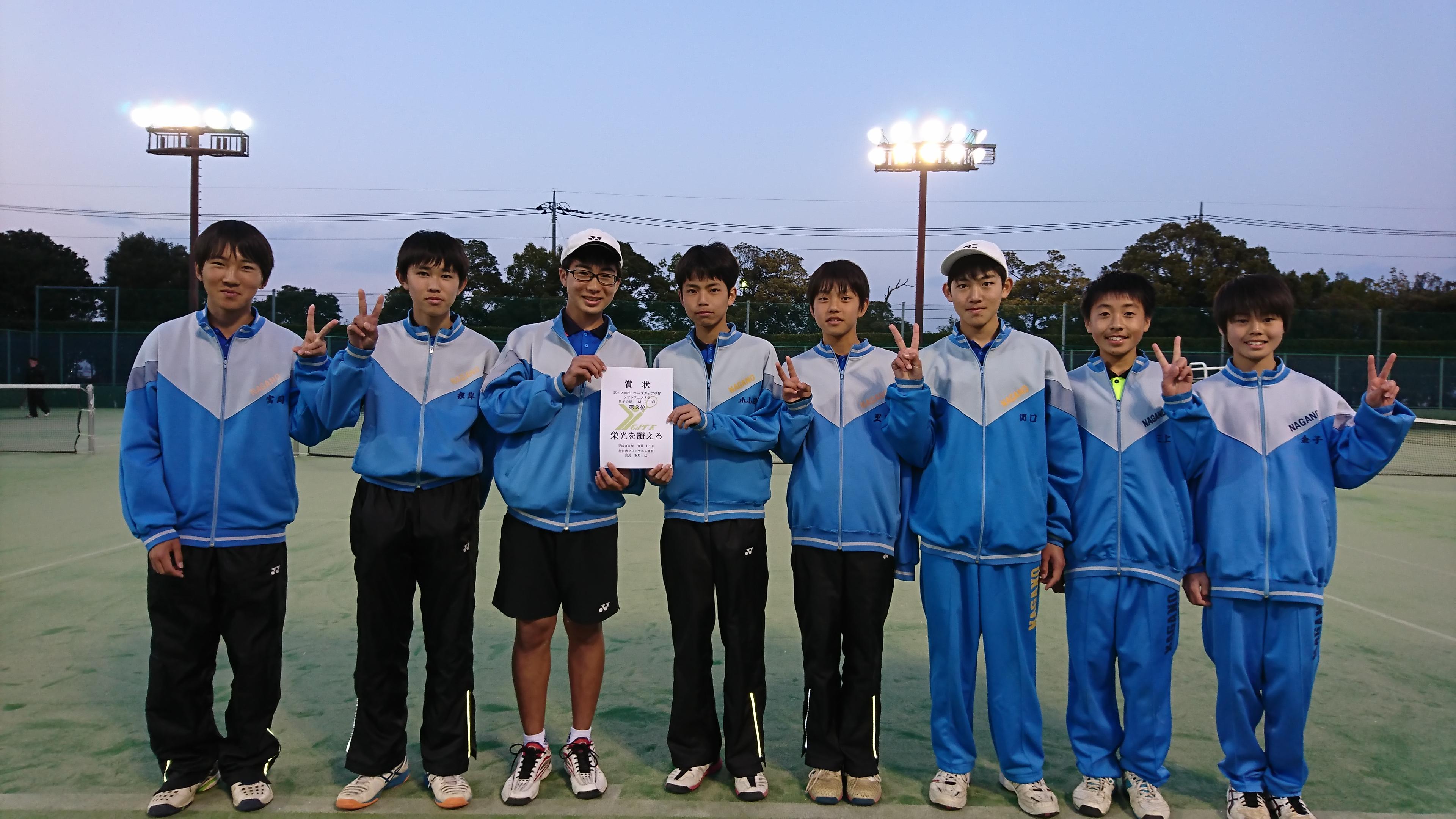 ソフトテニス 長野 連盟 県